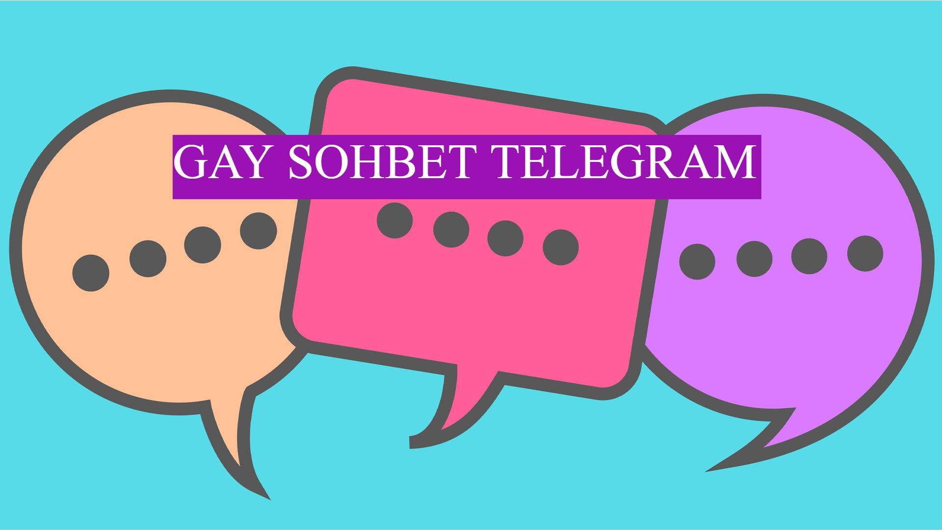 Gay Sohbet Telegram